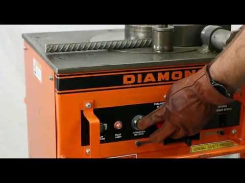 Diamond DBC 2525 Rebar Bender Cutter Combination