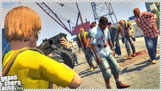 getlinkyoutube.com-🔹 GTA 5 THE WALKING DEAD #8 - NEW ZOMBIE UPDATE & CRAFTING SYSTEM! (GTA 5 GAMEPLAY)