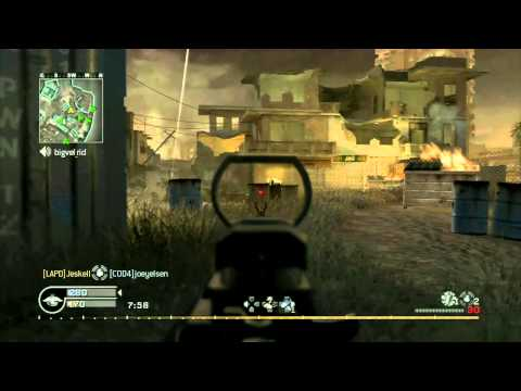 IDRA CLAN - Call of Duty 4: Modern Warfare - A LOOK BACK