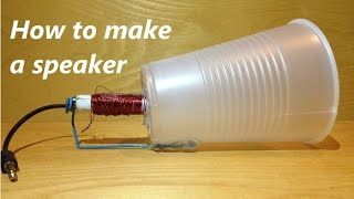 getlinkyoutube.com-How to make a speaker