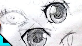 getlinkyoutube.com-Tips Dibujar OJOS ANIME.