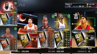 getlinkyoutube.com-NBA LIVE 15 - How to Make Coins & Pack Opening! (Ultimate Team)