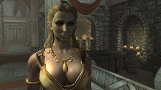 getlinkyoutube.com-Sexiest Clothes in Skyrim! How to get The Tavern Clothes.