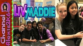 "getlinkyoutube.com-LIV & MADDIE | at the ""Friend-A-Rooney"" 