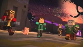 getlinkyoutube.com-Minecraft Story Mode Wither Storm Battle