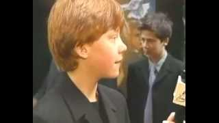 Rupert Grint At NYC Sorcerer's Stone Premiere