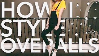 How I Style: Overalls | Lana