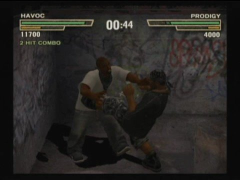 Def Jam Fight for NY - Havoc vs Prodigy