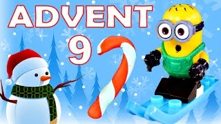 getlinkyoutube.com-Toy Advent Calendar Day 9 - - Shopkins LEGO Friends Play Doh Minions My Little Pony Disney Princess