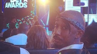 "TUPAC ALIVE AT BET AWARDS 2014 ""2pac seen alive 2014"""