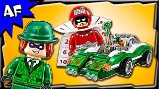 getlinkyoutube.com-Lego Batman Movie RIDDLER Riddle Racer 70903 Stop Motion Build Review