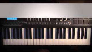 getlinkyoutube.com-Piano Lesson   Beyonce   Mine