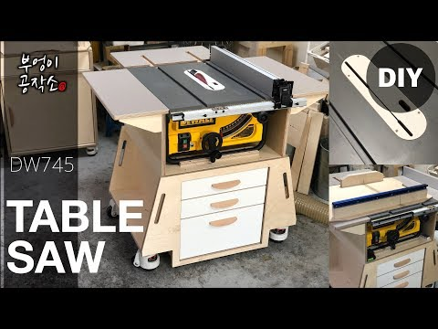 Great Table Saw Stand for the DW745 Youtube Thumbnail