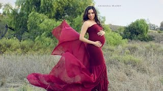 getlinkyoutube.com-Pregnancy Photoshoot in California Fields by Ana Brandt