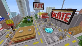 Minecraft Xbox - City Outskirts - Novakov City - Part 3