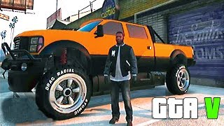 "getlinkyoutube.com-Grand Theft Auto V - Gameplay With [MONSTER TRUCK] ""Vapid Sandking XL Off-Road"" and Customization"