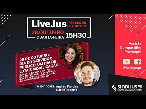 LiveJus - Valorização do Servidor Público