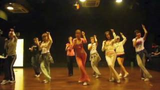 getlinkyoutube.com-SNSD [Chocolate Love] Dance sm practice room Sep 28, 2009 GIRLS' GENERATION