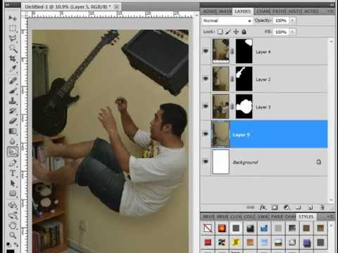 DSLR-Enthusiast Trick Photography Tutorial - Creating levitation / falling down image