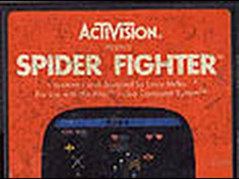 Classic Game Room HD - SPIDER FIGHTER for Atari 2600 review