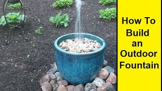 getlinkyoutube.com-How To Make an Outdoor Fountain