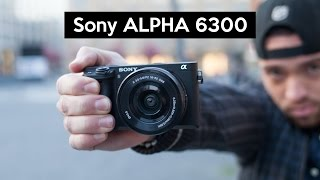getlinkyoutube.com-Sony Alpha 6300 | hands on | stunning 4K camera with great low light performance