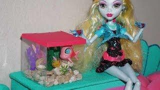 getlinkyoutube.com-Como fazer aquário para boneca Monster High, Barbie, etc