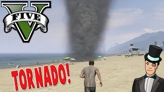 getlinkyoutube.com-GTA 5 Mods - TORNADO MOD - GTA V PC Gameplay