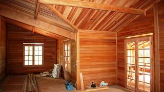 getlinkyoutube.com-Construção de uma casa de madeira em São Paulo