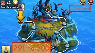 getlinkyoutube.com-Monster Legends, Adventure Map, Levels 291 to 300