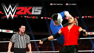 getlinkyoutube.com-The Greatest Match of All Time! Lui vs Delirious (WWE 2K15)