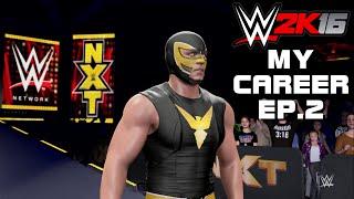 getlinkyoutube.com-WWE 2K16 My Career Mode Part 2: Deagle's NXT Debut, Darren Young's Saggy Chest