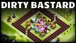 getlinkyoutube.com-DirtyBase: Dirty Bastard TH19 (an insanely crazy original base) - Castle Clash D131