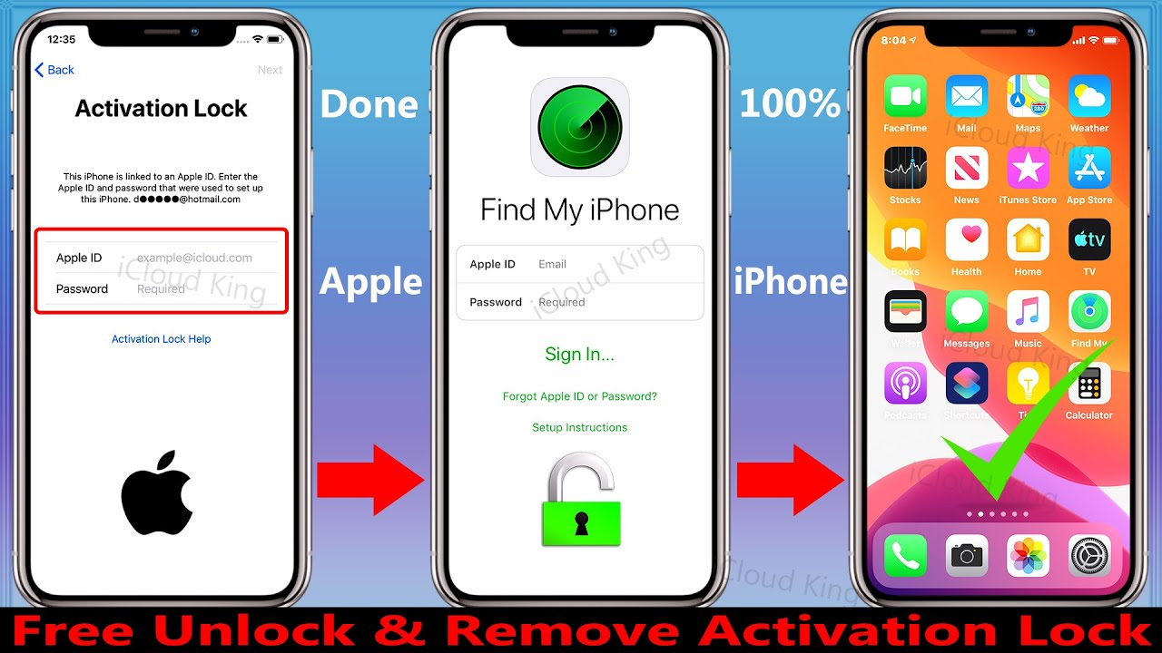 How do you Unlock an iPhone iPad iPod Touch