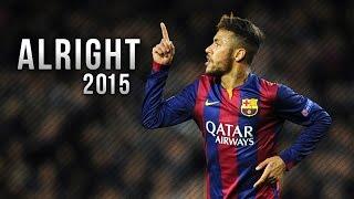 getlinkyoutube.com-Neymar Jr ● Alright - Skills & Goals 2015 | HD