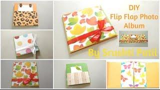 getlinkyoutube.com-DIY Flip flap Mini Photo Album Tutorial | By Srushti Patil | Card Ideas
