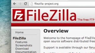 getlinkyoutube.com-How to use FileZilla FTP Client - Tutorial