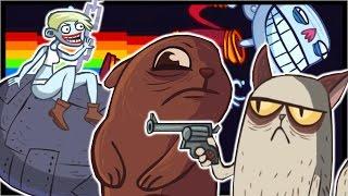 getlinkyoutube.com-10 VIRAL YOUTUBE VIDEO TROLLS!!! | Trollface Quest Trolltube