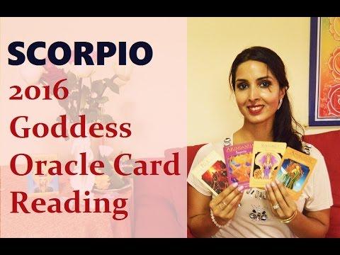Scorpio 2016 Goddess Oracle Card Reading