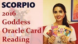 getlinkyoutube.com-Scorpio 2016 Goddess Oracle Card Reading