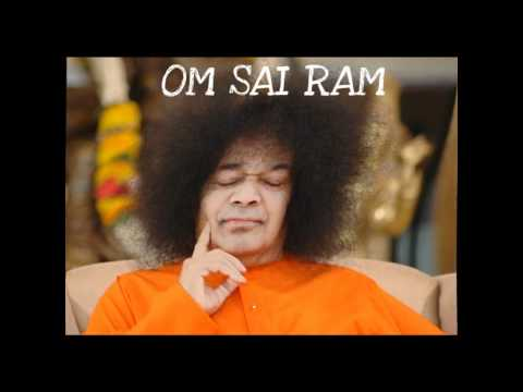 Sai Baba singing Gayatri Mantra
