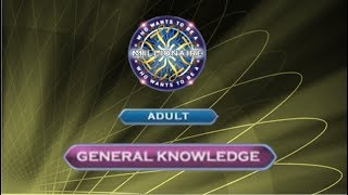 Who Wants To Be A Millionaire? DVD 5th Edition - Adult - General