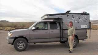 getlinkyoutube.com-Home Built Pop-up Camper Toyota Tundra