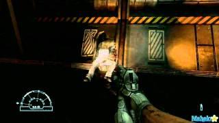 "getlinkyoutube.com-Aliens vs Predator Walkthrough - Marine: Mission 1 ""Colony"" Part 1"