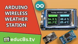 getlinkyoutube.com-Arduino Project: Wireless Weather Station using Arduino Due, DHT22 sensor and NRF24L01+ modules!