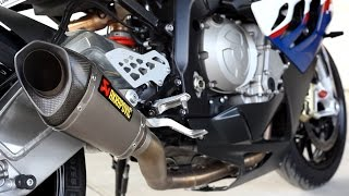 getlinkyoutube.com-BMW S1000RR Akrapovic Full Exhaust Idle and Rev Sound Clip