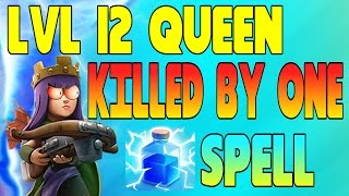 "getlinkyoutube.com-CLASH OF CLANS - ARCHER QUEEN KILLED BY 1 LIGHTING SPELL! ""FUNNY MOMENTS + LAVA RAIDS"" (MUST WATCH)"