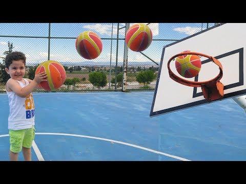 Yusufla Basketbol Maçı Yaptık | Çocuk Videoları