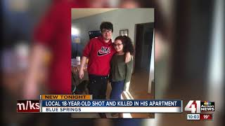 18-year old shot, killed in Blue Springs