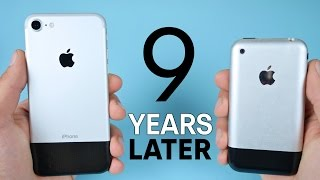 getlinkyoutube.com-iPhone 7 vs Original iPhone 2G! 9 Year Comparison